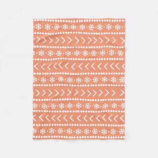 Rugged Snow blanket - orange