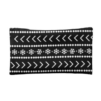 Rugged Snow make-up pouch - black Cosmetic Bags