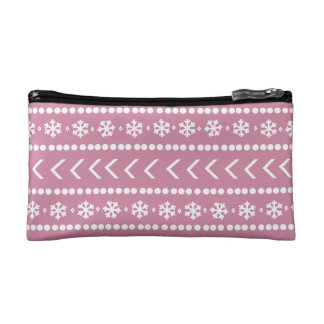 Rugged Snow make-up pouch - pink