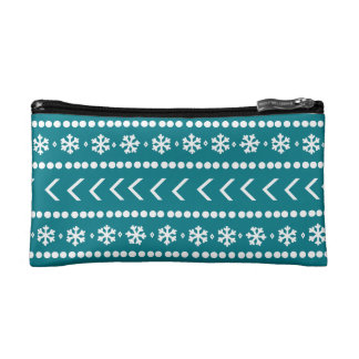 Rugged Snow make-up pouch - teal