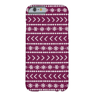 Rugged Snow phone case - raspberry