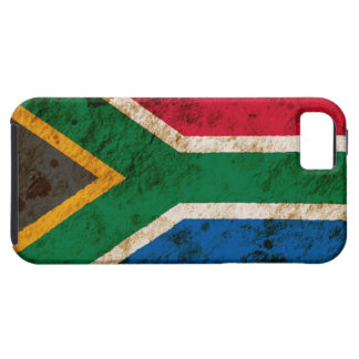 Rugged South African Flag iPhone 5 Case