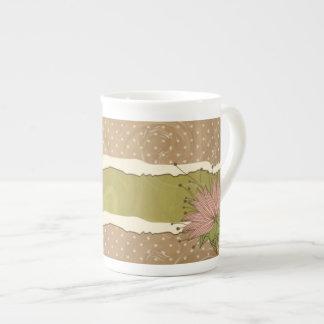 Rugged Style Bone China Mug