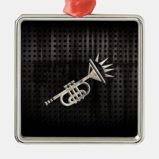 Rugged Trumpet Ornaments