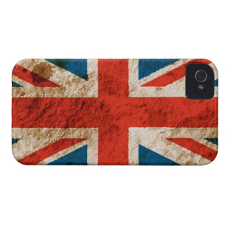 Rugged Union Jack iPhone 4 Case-Mate Cases