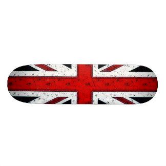 Rugged Union Jack Custom Skateboard