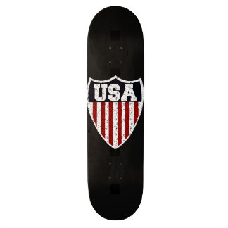 Rugged USA Supporters Shield Skate Deck