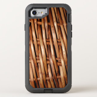 Rugged Wicker Basket Look OtterBox Defender iPhone 7 Case