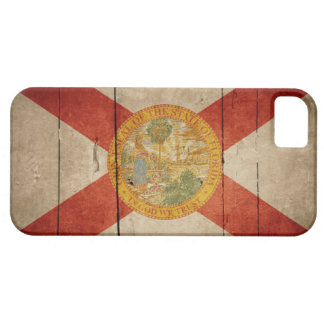 Rugged Wood Florida Flag Barely There iPhone 5 Case