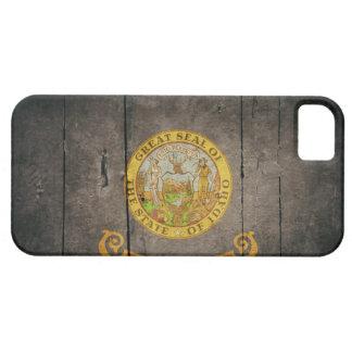 Rugged Wood Idaho Flag iPhone 5 Covers