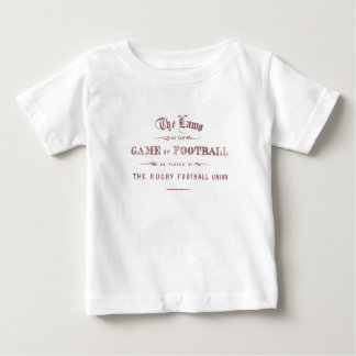 Ruggershirts Laws of Rugby Baby T-Shirt