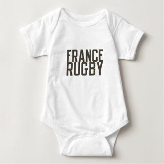 Ruggershirts Retro France Rugby Baby Bodysuit