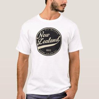 Ruggershirts Retro New Zealand Rugby T-Shirt