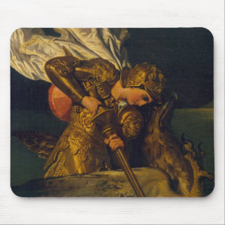Ruggiero Rescuing Angelica Mouse Mat