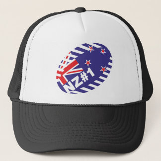 Rugy Ball NZ#1 Trucker Hat