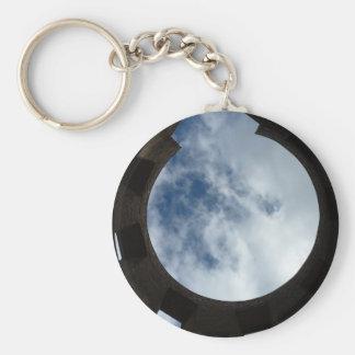 Ruin Basic Round Button Key Ring