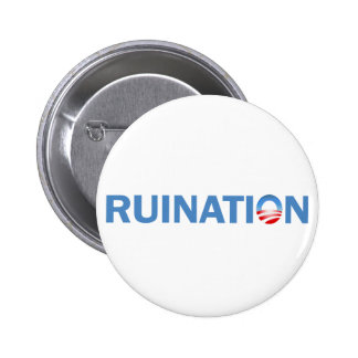 Ruination 6 Cm Round Badge