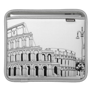Ruined Amphitheater iPad Sleeve