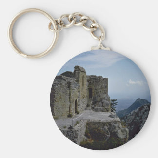 Ruins At The Mountain Top Keychains