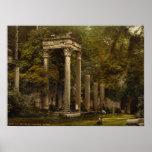 Ruins at Virginia Water, Windsor, Berkshire Posters
