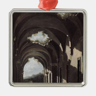 Ruins in a Landscape, c.1646-47 Christmas Ornament