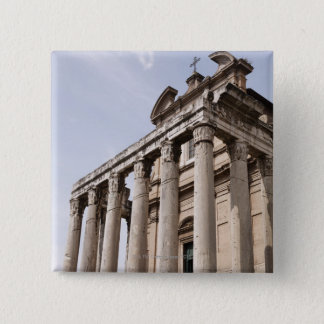 Ruins in Rome, Italy 2 15 Cm Square Badge