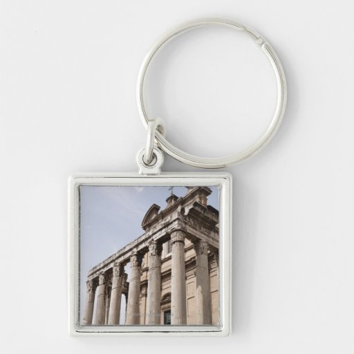 Ruins in Rome, Italy 2 Key Chain