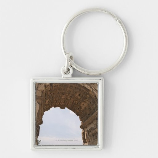 Ruins in Rome, Italy Key Chain
