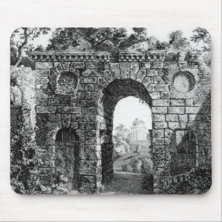 Ruins in the middle of Kew Gardens, from 'The Gard Mouse Mat