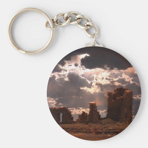 Ruins Keychains