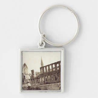 Ruins near the Powder Magazine, Ypres, June 1915 Key Ring