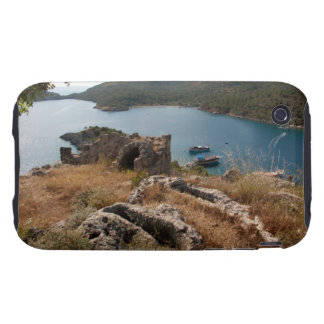 Ruins of ancient burial site on small island iPhone 3 tough case