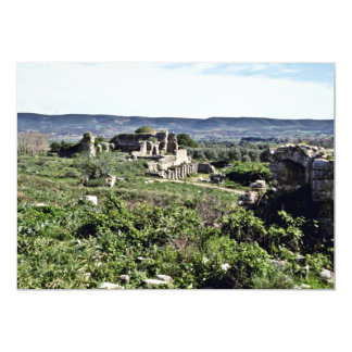 Ruins Of Ancient Greek City Of Miletus - Milet 13 Cm X 18 Cm Invitation Card