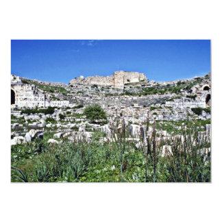 Ruins Of Ancient Greek Theatre Of Miletus - Milet 13 Cm X 18 Cm Invitation Card