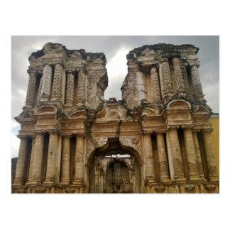 Ruins of Antigua Guatemala Postcard