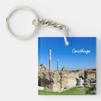 Ruins of Carthage Key Chain