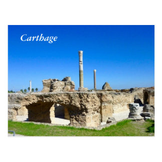 Ruins of Carthage postcard
