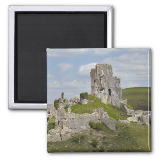 Ruins of Corfe Castle, near Wareham, Dorset, Magnet