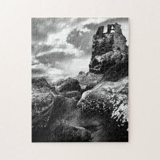 Ruins of Dunure Castle, Ayrshire, Scotland Jigsaw Puzzle