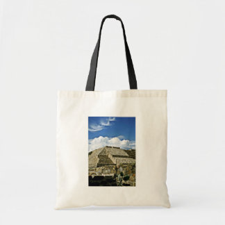 Ruins Of Monte Alban, Near Oaxaca Budget Tote Bag