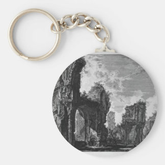 Ruins of Sixtus, or both of the great hall Basic Round Button Key Ring