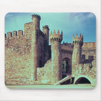 Ruins of the Castle of the Knights Templar Mouse Mat