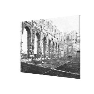 Ruins of the Cour des Comptes Canvas Print