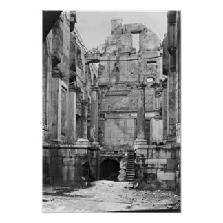 Ruins of the Cour des Comptes Poster