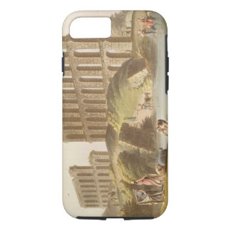 Ruins of the Grand Aqueduct of Ancient Carthage, p iPhone 8/7 Case
