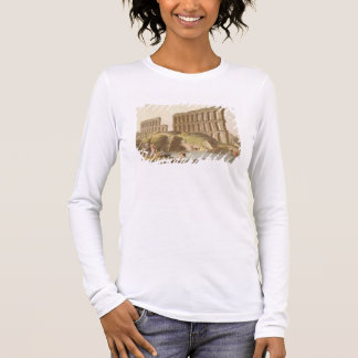 Ruins of the Grand Aqueduct of Ancient Carthage, p Long Sleeve T-Shirt