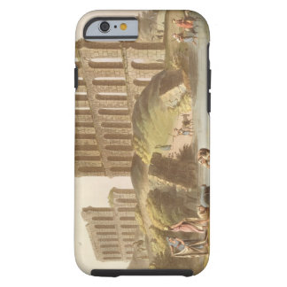 Ruins of the Grand Aqueduct of Ancient Carthage, p Tough iPhone 6 Case