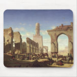 Ruins of the Mosque of the Caliph El Haken Mouse Mat