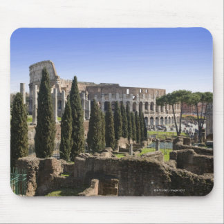 Ruins of the Roman Colosseum from Il Palatino, Mouse Mat