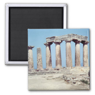 Ruins of the Temple of Apollo, c.550 BC Magnet